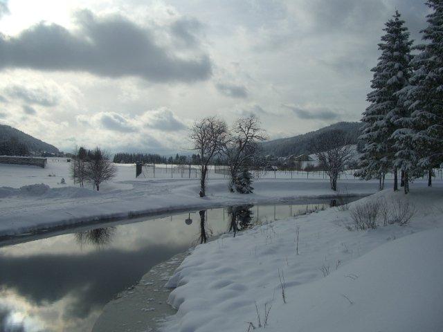 Bois d'Amont, vue vers Les Rousses